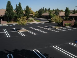 New Parking Lot Paving job completed in Gloucester, Virginia