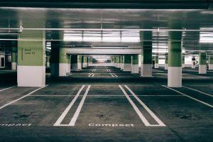 Paved multi story parking lot in Gloucester, Virginia - Gloucester Asphalt Paving